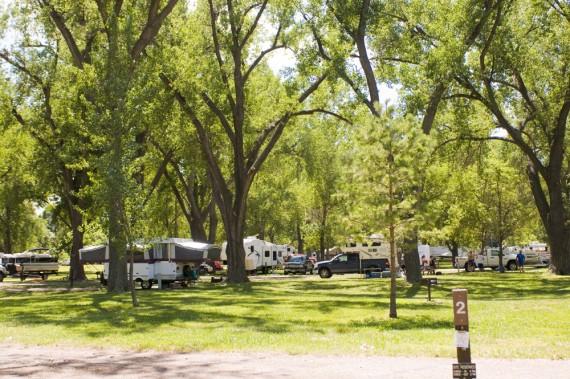 Camping Lake Mcconaughy