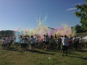 Lake Mac Color Run @ Lake Ogallala Eagle Viewing Center