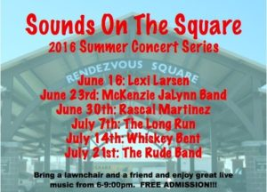 Sounds on the Square - Long Run @ Rendezvous Square
