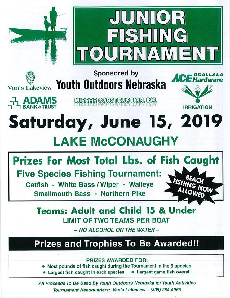Youth Outdoors Nebraska Junior Fishing Tournament