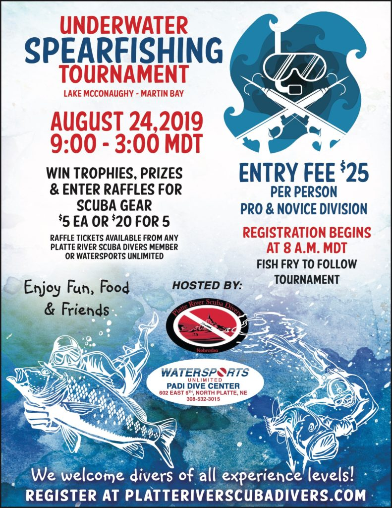 Underwater Spearfishing Tournament
