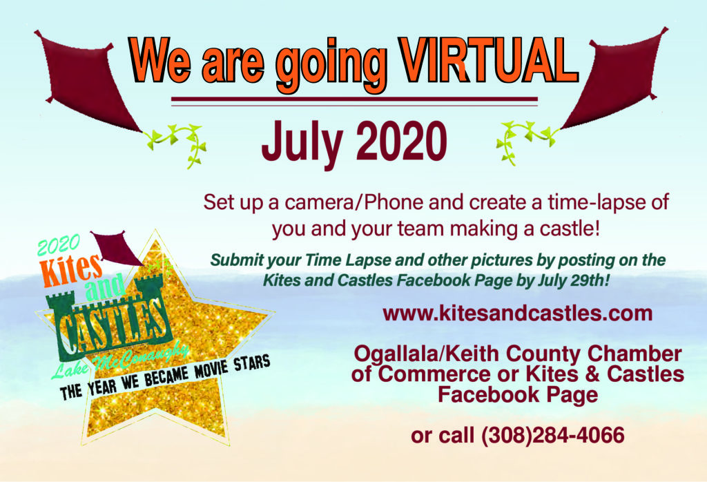 Kites & Castles Virtual Event Through July 29