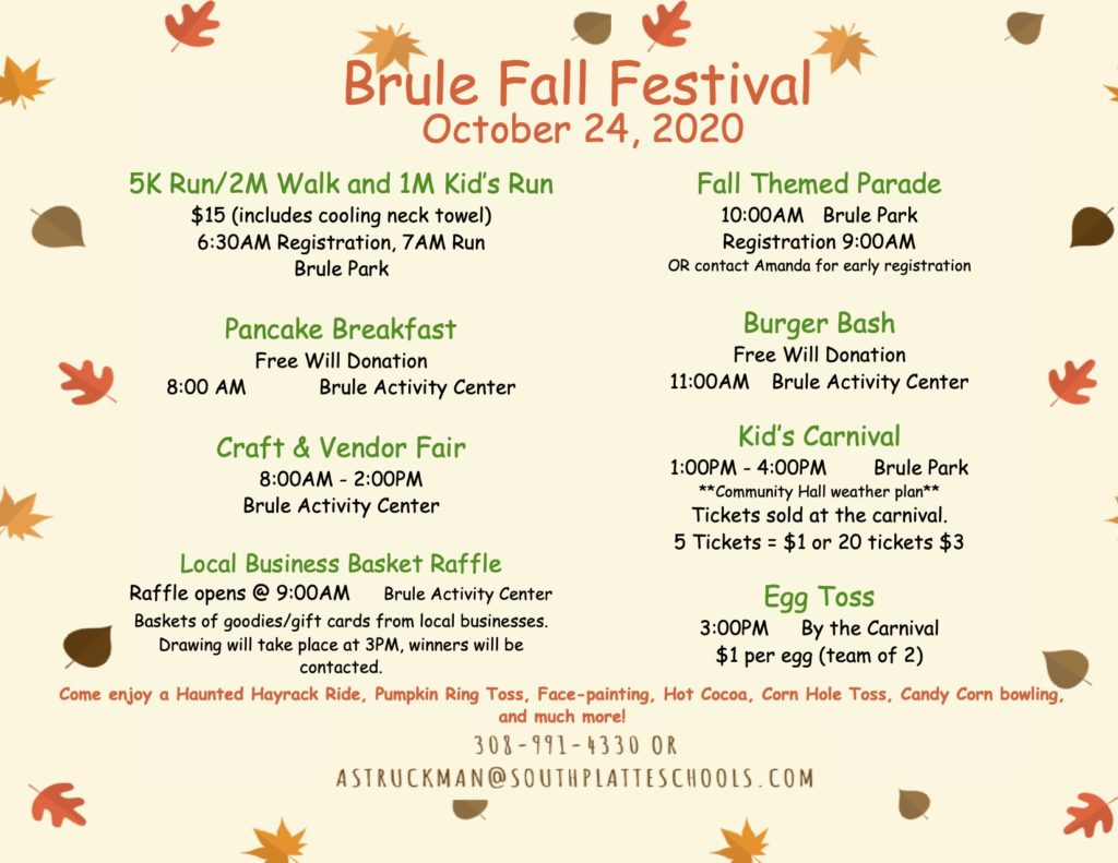 Brule Fall Festival