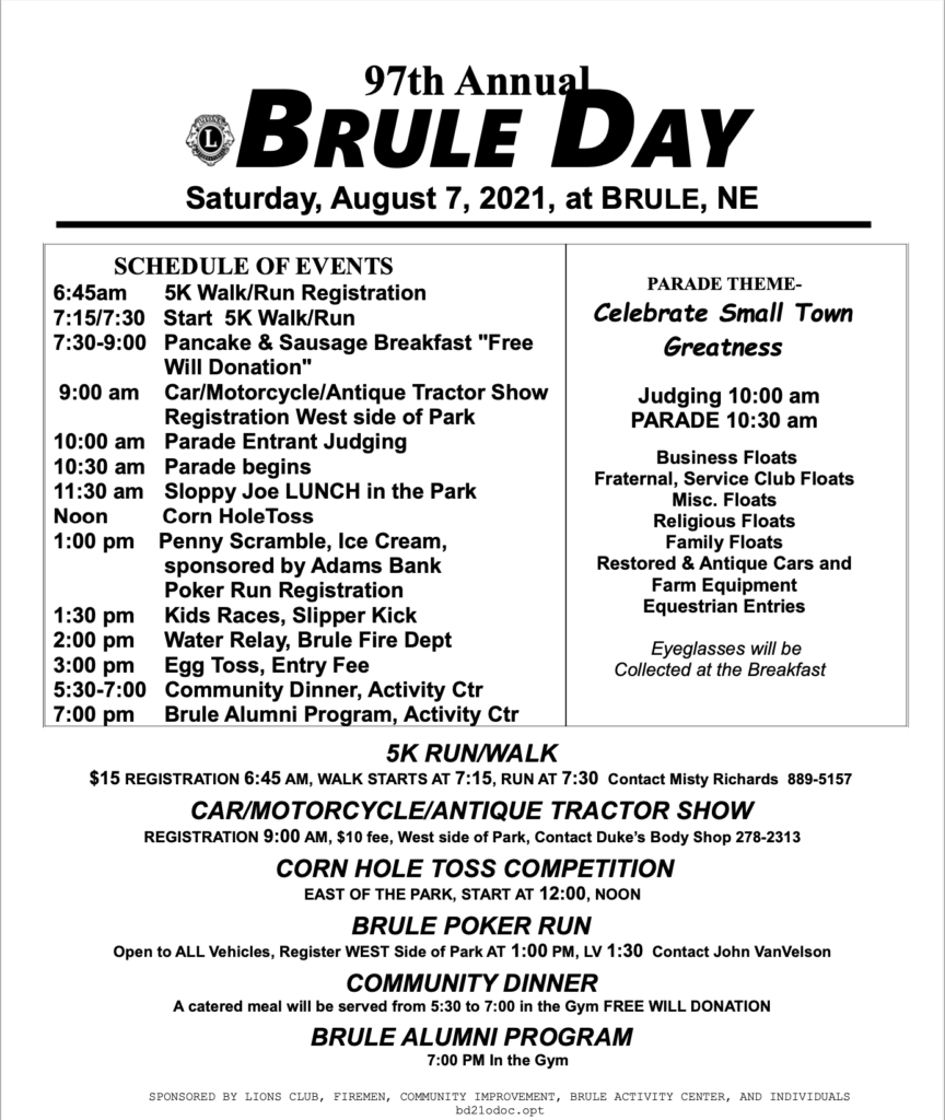 Brule Day